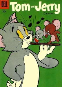 Tom and Jerry #144, VG- (Stock photo)
