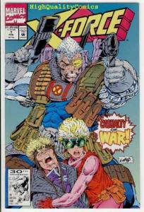 X-FORCE #7 8 9 10, NM+ Blob, Mike Mignola,  ShatterStar, 1991, more in store
