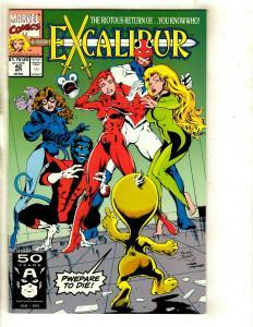 10 Comics Excalibur 42 71 Special+ Heroes 3 Deathlok 6 13 14 16 17 Thunder 1 RP1