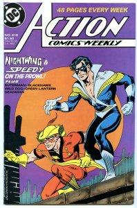 Action Comics Weekly 618 Sep 1988 NM- (9.2)