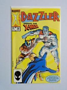 Dazzler #38 Direct X-Men appearance 8.0 VF (1985)