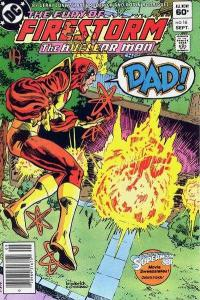Fury of Firestorm (1982 series) #16, NM- (Stock photo)