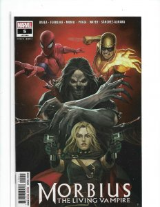 Morbius the Living Vampire #5  MAIN COVER A MARVEL 2019 NM  nw07