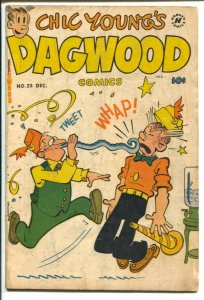 Dagwood #25 1952-Harvey-Chic Young-Blondie-Popeye-Little King-puzzle page-FR