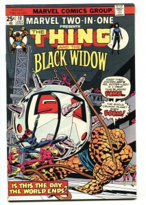 Marvel Two-In-One #10 1975-Black Widow- Thing- VF/NM