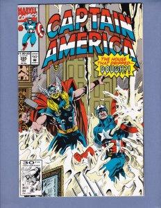 Captain America #395 NM- Thor Viper Crossbones Red Skull Marvel 1991