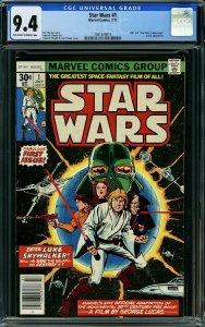 Star Wars #1 (Marvel, 1977) CGC 9.4