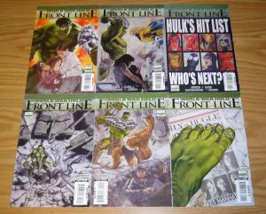 World War Hulk: Front Line #1-6 VF/NM complete series  peter david  paul jenkins