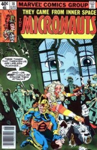 Micronauts #18 Marvel 1980 4.0 VG (Stock Photo)