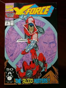 X-FORCE #2 (1991) 2nd appearance of DEADPOOL - Rob Liefeld art