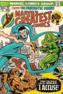 Marvel's Greatest Comics #48 FN; Marvel   save on shipping - details inside