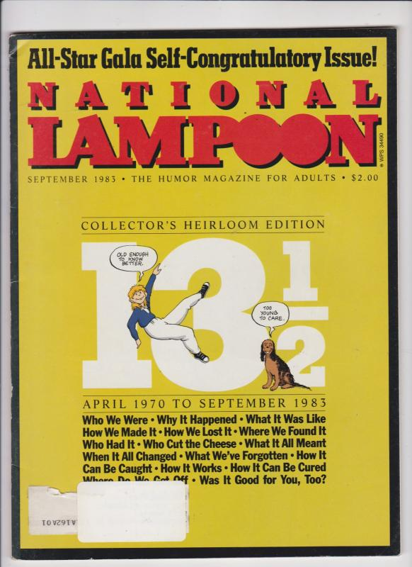 NATIONAL LAMPOOON--SEPT. 1983---COLLECTORS HEIRLOOM EDITION