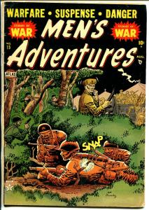 Men's Adventure #15-Atlas-Joe Maneely-Korean War-Davy Berg-historic-VG