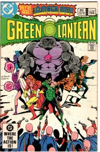 Green Lantern #161 (1960 v2) Guardians of the Universe Omega Men VF+