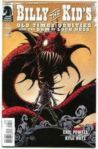 BILLY the KID #4, Orm of Loch Ness, NM, Eric Powell, 2012, more  in store