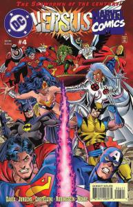 Marvel Versus DC/DC Versus Marvel #4 FN; Marvel-DC   save on shipping - details