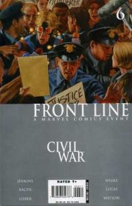 Civil War: Frontline #6, NM + (Stock photo)