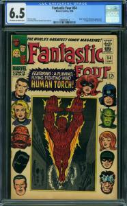 Fantastic Four #54 (Marvel, 1966) CGC 6.5