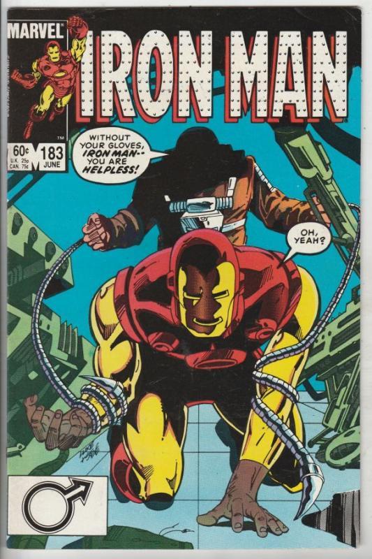 Iron Man #183 (Jun-85) VF/NM- High-Grade Iron Man