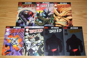 Breed #1-6 VF/NM complete series + gold variant - jim starlin set lot 2 3 4 5