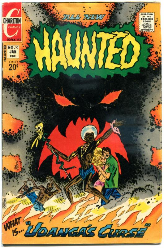 HAUNTED #10, VG, Voodoo Curse, Horror, 1971 1973, more Charlton in store