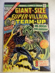 SUPER-VILLAIN TEAM-UP GIANT-SIZE # 1
