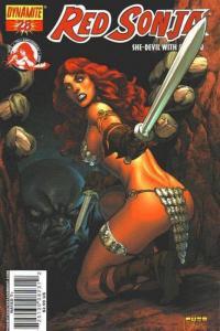 Red Sonja #28 (Dynamite) - Mel Rubi Cover