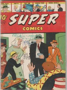 Super Comics #68 (Jan-44) GD/VG Affordable-Grade Dick Tracy