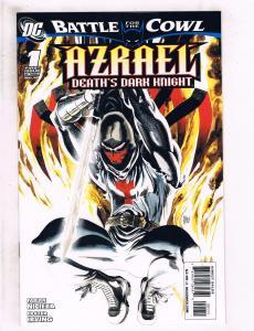 Lot of 3 Azrael Death's Dark Knight DC Comic Books #1 2 3 J127