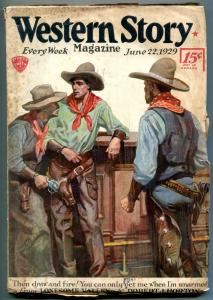 Western Story Pulp June 22 1929 1928-Lonesome Valley - Robert J Horton