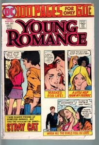 YOUNG ROMANCE #202 1974-DC COMICS-VG--100 PAGE ISSUE! VG-
