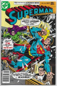 Superman   vol. 1   #315 FN Blackrock