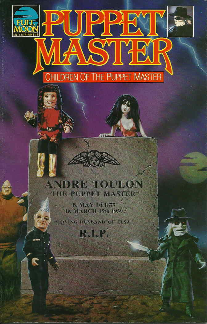 Puppet Master Children of the Puppet Master #1 FN 1991 Stock Image
