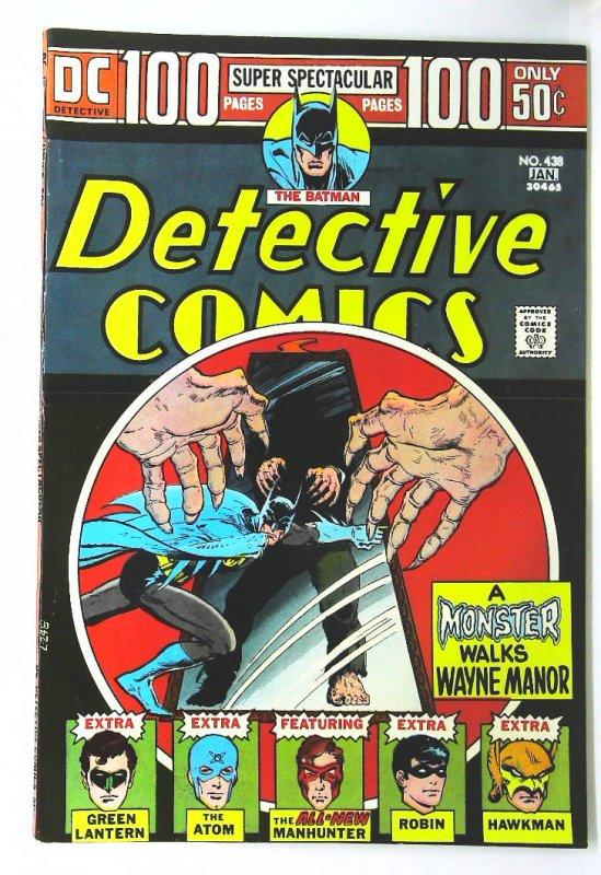 Detective Comics (1937 series) #438, VF- (Actual scan)