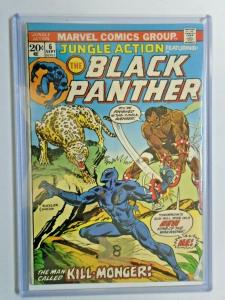 Jungle Action #6 Black Panther remainder mark tape on cover 3.0 (1973)