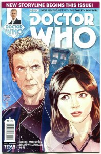 DOCTOR WHO #6 A, NM, 12th, Tardis, 2014, Titan, 1st, more DW in store, Sci-fi
