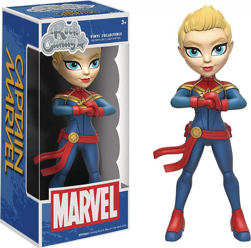 Rock Candy Captain Marvel Figure (Funko, 2016) New!