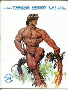 Burroughs Bulletin #34-1974-Edgar Rice Burroughs-Tarzan-Richard Corben-VF