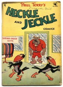 Heckle and Jeckle #21 1955-Golden Age Funny Animal comic G