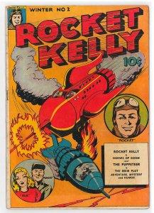 Rocket Kelly (1944) #2 VG/FN, Hard to find