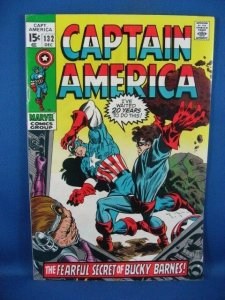 Captain America #132 (Dec 1970, Marvel) F+