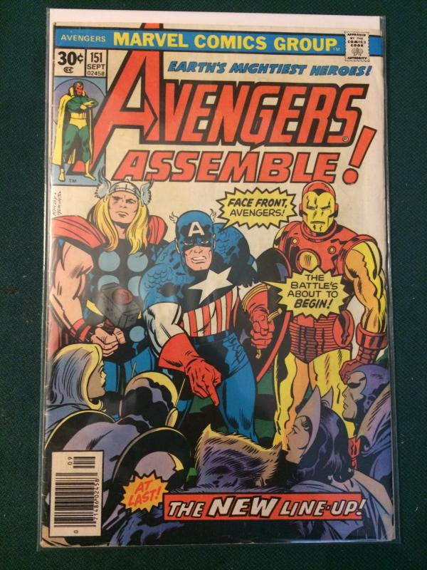 Avengers #151 THE NEW LINE-UP!