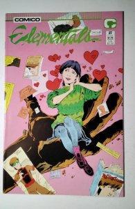 Elementals #27 (1988) Comico Comic Book J756