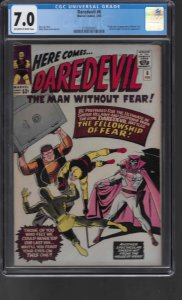 Daredevil #6 (1965) CGC Graded 7.0