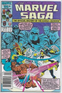 Marvel Saga  : Official History of the Marvel Universe   #14 FN