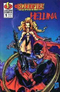 Bloodfire/Hellina #1 VF; Lightning | save on shipping - details inside