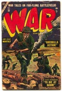 War Comics #30 1954- Atlas Golden Age- Hitler G