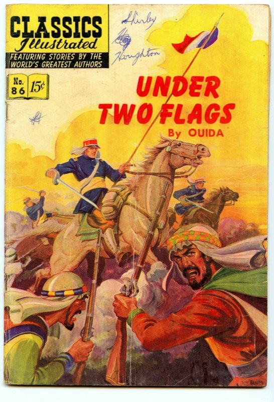 Classics Illustrated 86 (Original) Aug 1951 VG- (3.5)