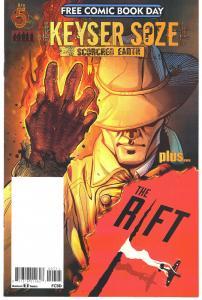 Keyser Soze / The Rift - Red 5 Comics FCBD 2017