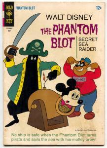 The Phantom Blot #6 1966- Walt Disney Comic Mickey Mouse VG